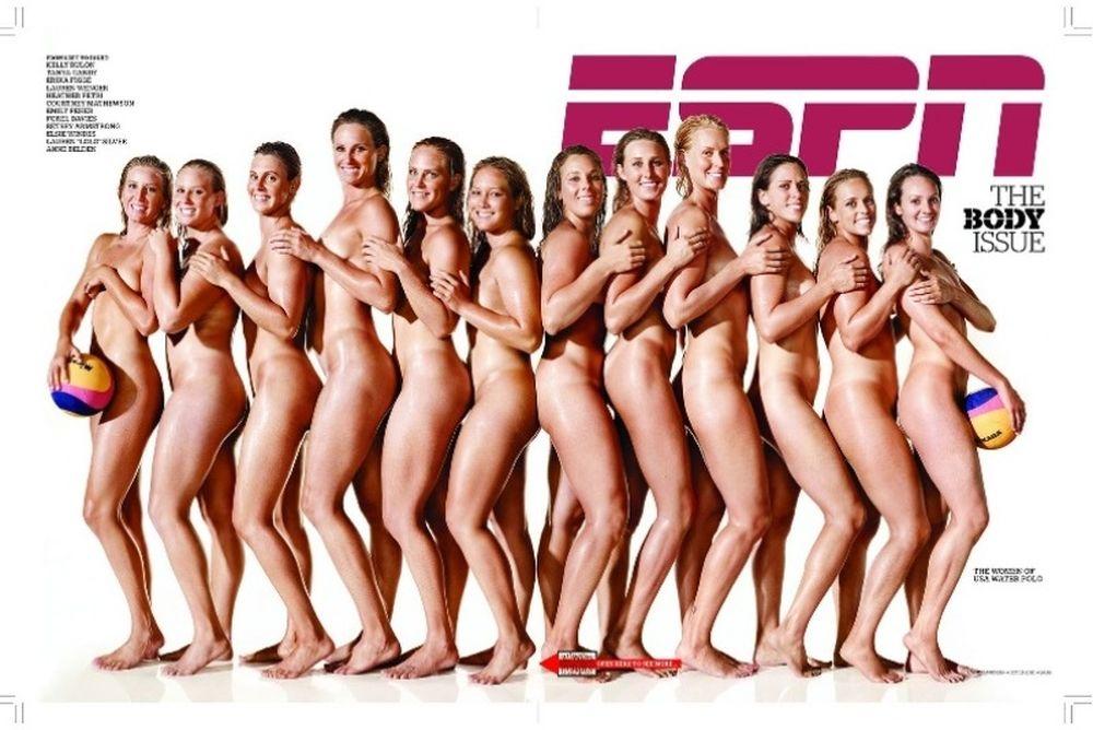 Οι γυμνές αθλήτριες του ESPN (photos+videos)
