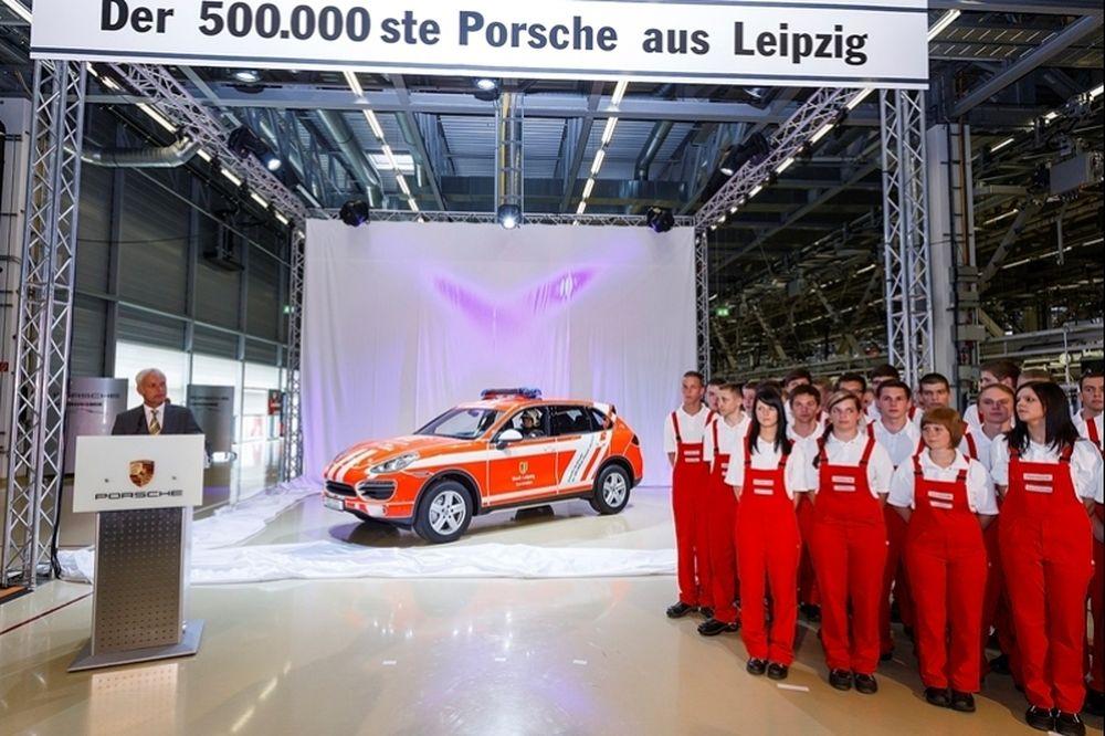 500.000 Porsche από τη Λειψία