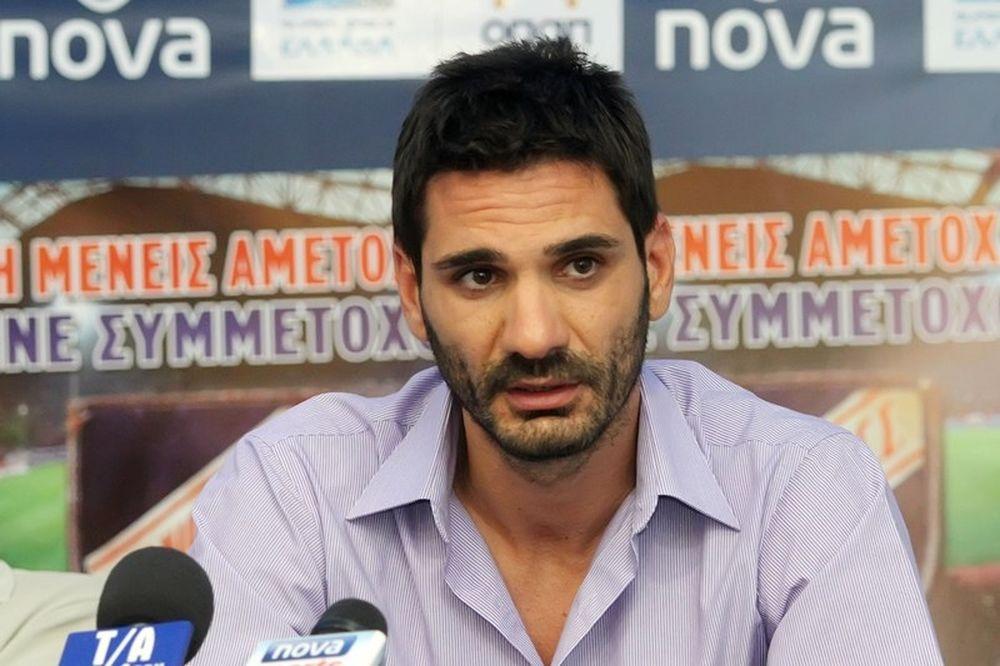 Ελευθερόπουλος: «Θα ματώσουμε στο γήπεδο»