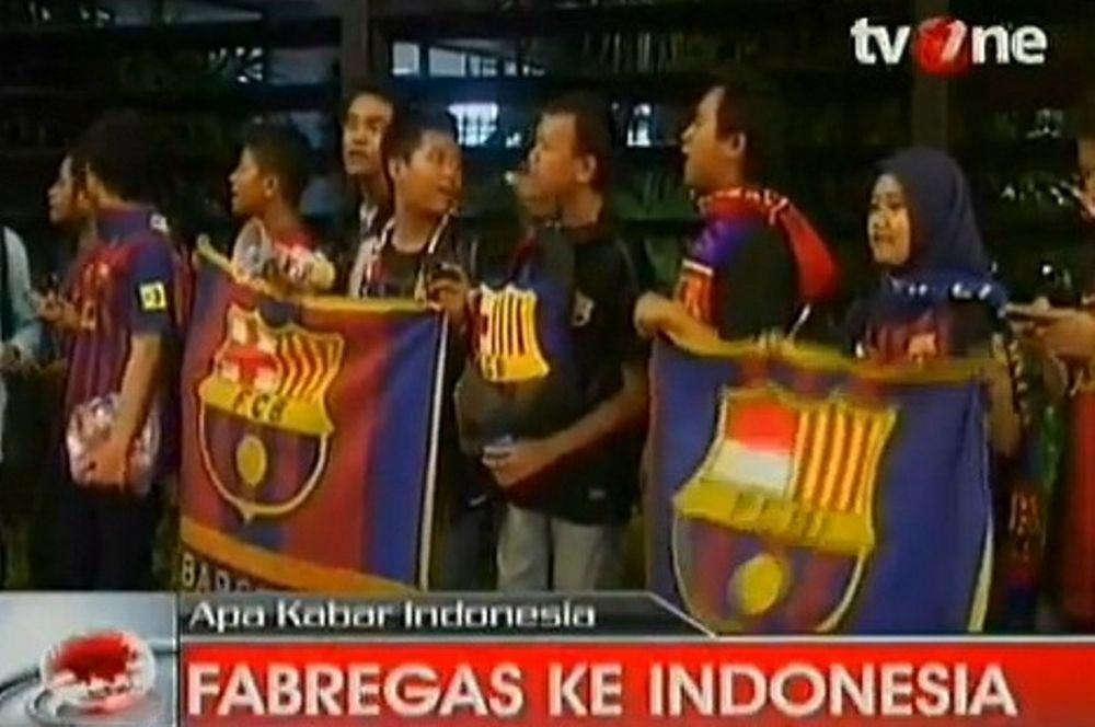 Τρέλα… Φάμπρεγας στην Ινδονησία! (video)