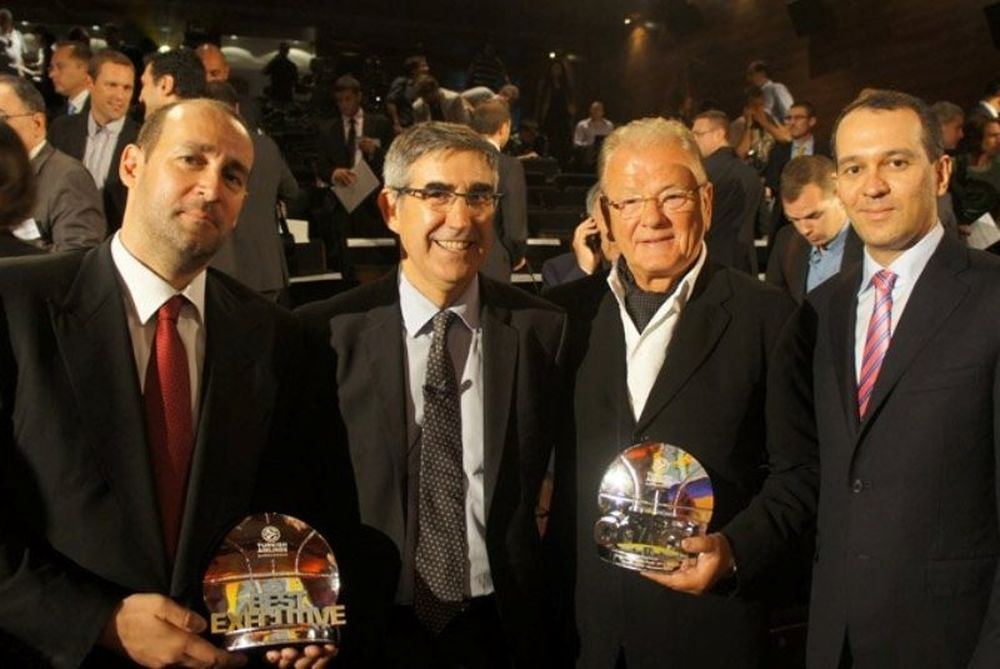 Οι βραβεύσεις του Ολυμπιακού από την Ευρωλίγκα (photos)