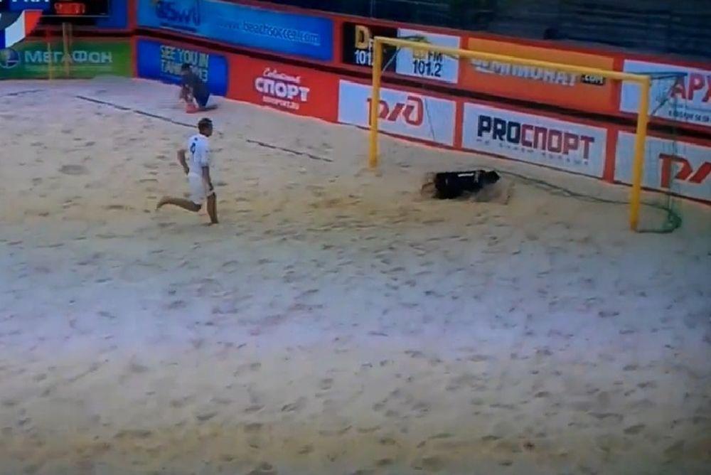 Οι Ρουμάνοι δεν... κάνουν για beach soccer! (video)