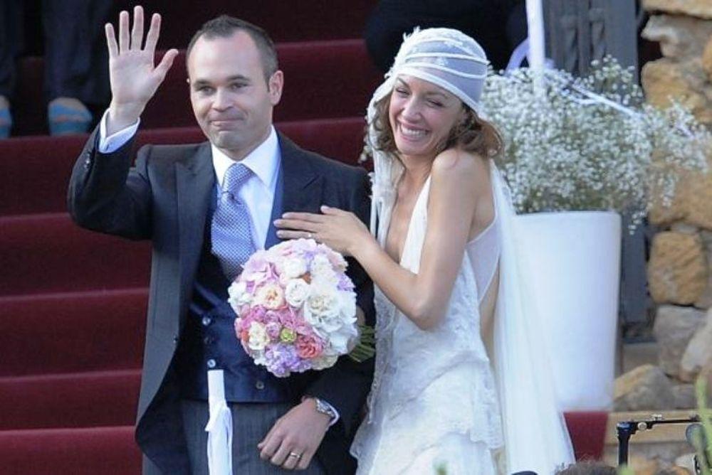 Παντρεύτηκε ο Ινιέστα (video)
