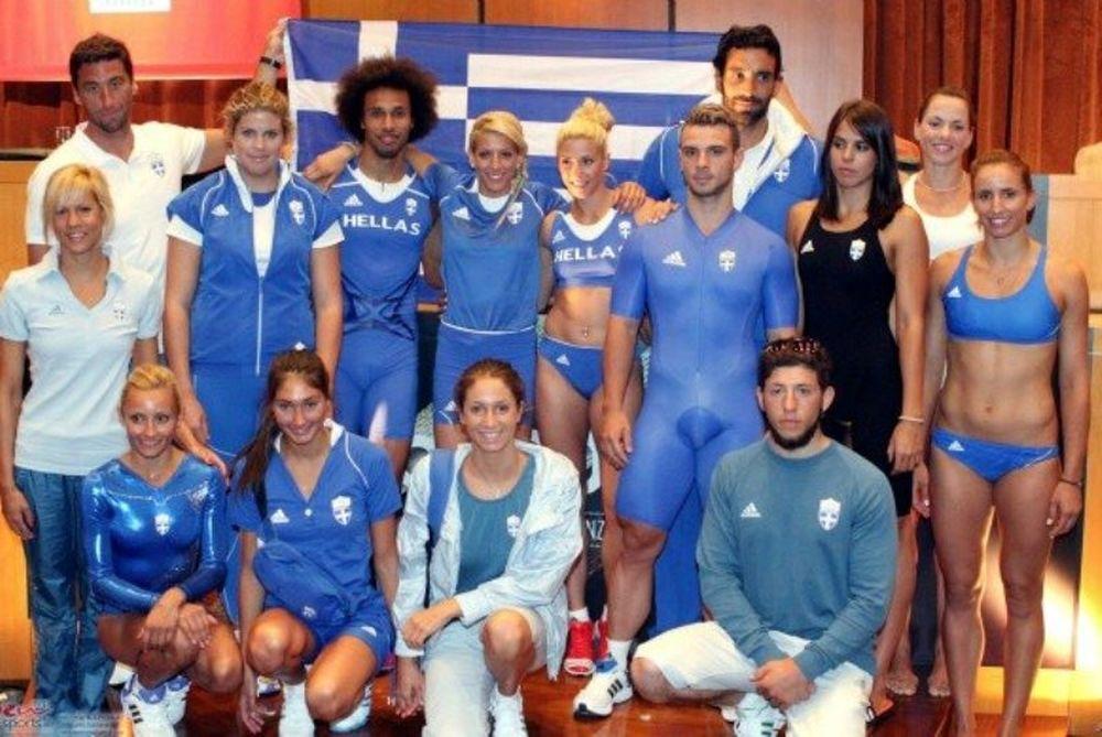 Η ελληνική αποστολή για τους Ολυμπιακούς Αγώνες του Λονδίνου