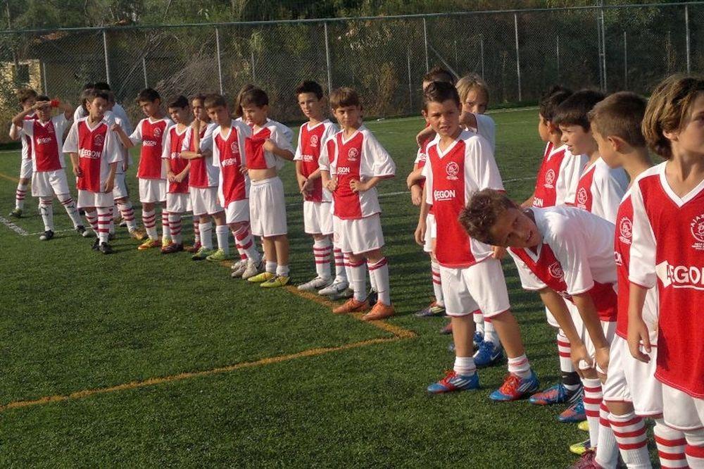 Ολοκληρώθηκε με επιτυχία το Camp Ajax Hellas