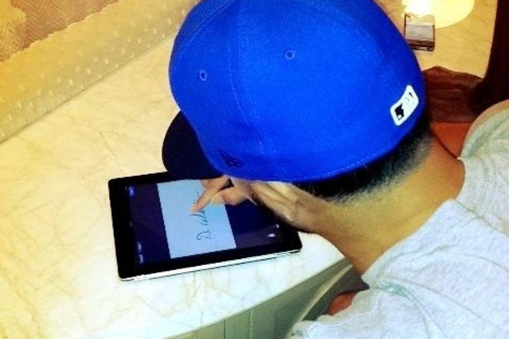 Μέσω iPad η υπογραφή του Ουίλιαμς!
