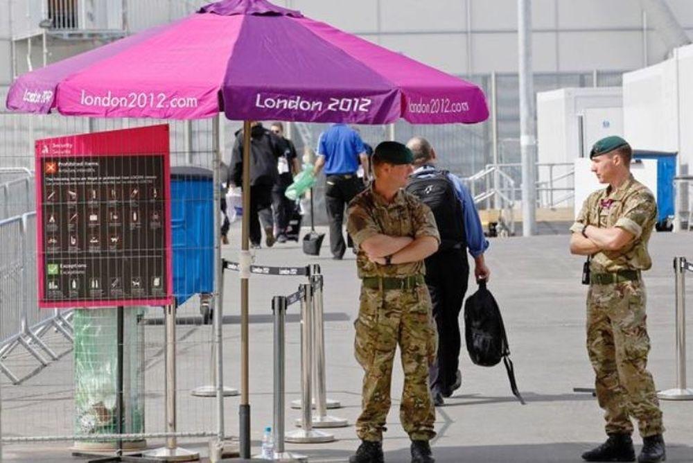 Λονδίνο 2012: Στρατιωτική... υπόθεση οι Ολυμπιακοί Αγώνες!