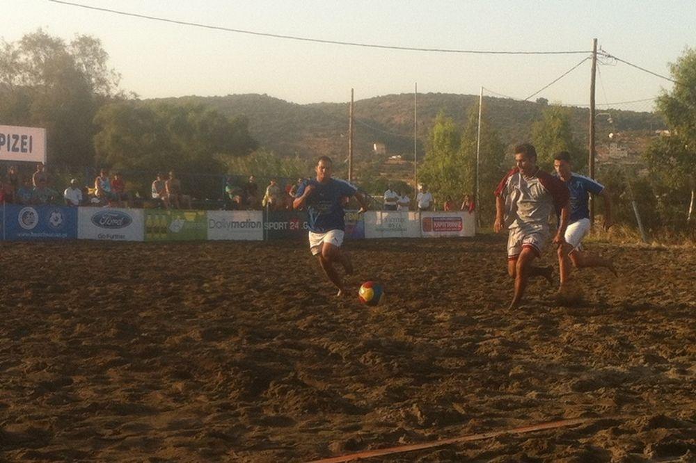 Πρεμιέρα beach soccer με πλούσιο θέαμα στο Γύθειο