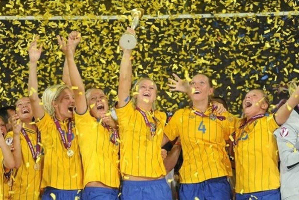 Πρωταθλήτρια Ευρώπης η Σουηδία