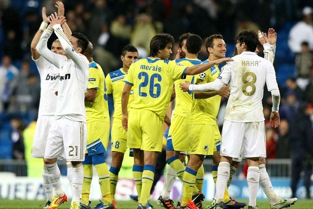 Αποθέωση UEFA σε ΑΠΟΕΛ!