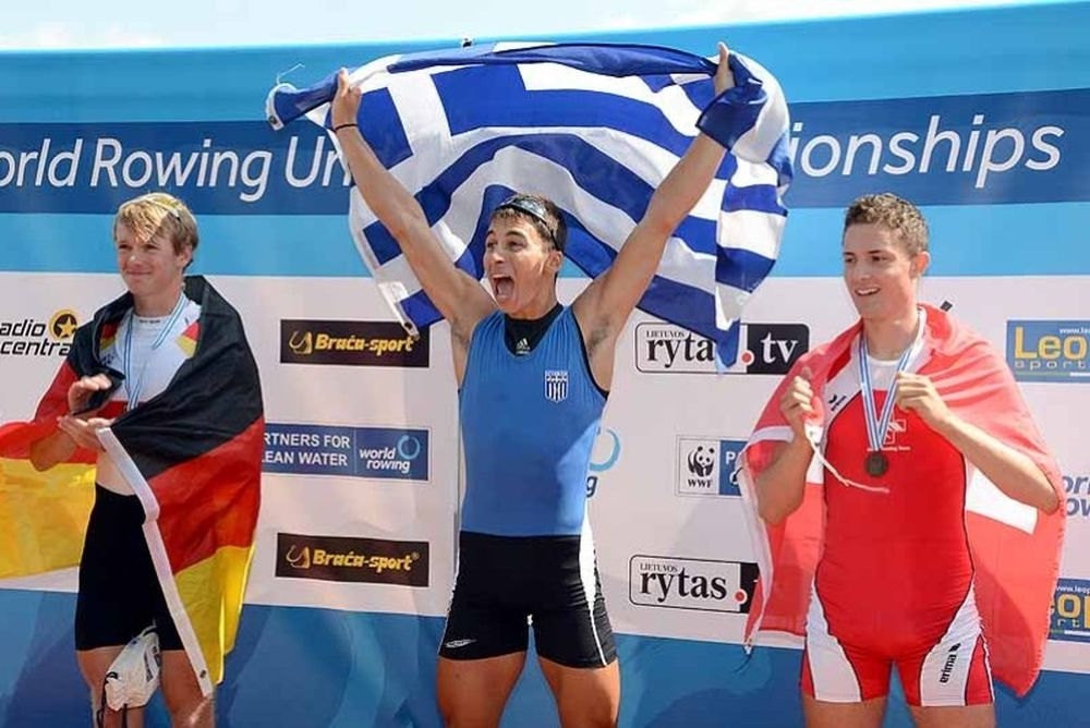 Τρία μετάλλια στο Παγκόσμιο Κωπηλασίας U23