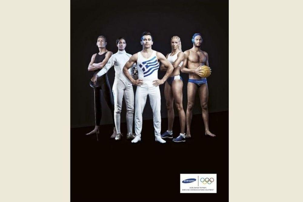 Λονδίνο 2012: Κοντά στους Έλληνες αθλητές η Samsung