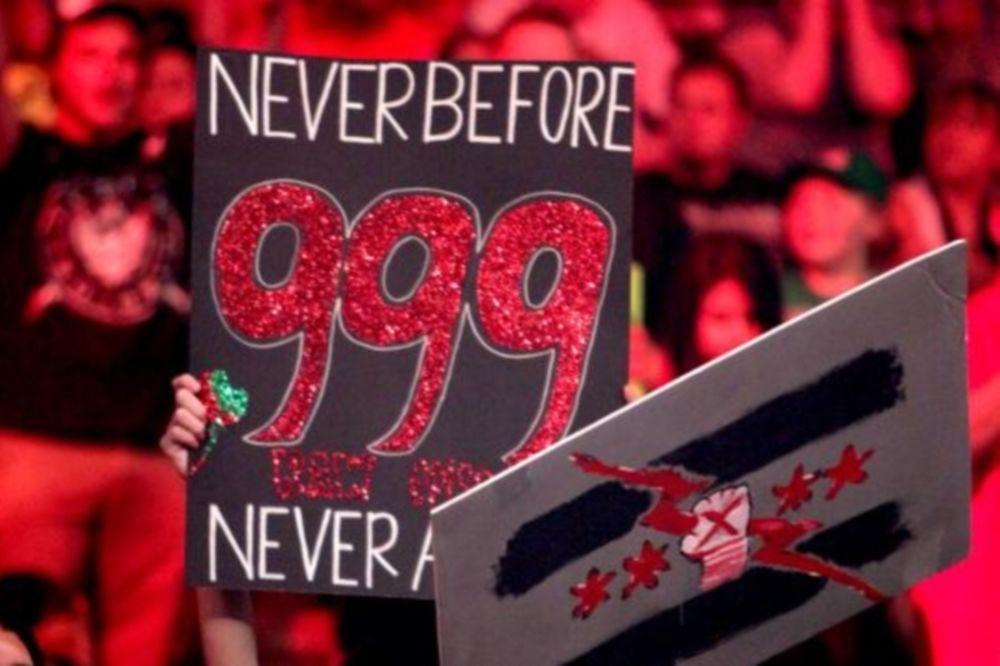 Επεισόδιο… 999 του Raw