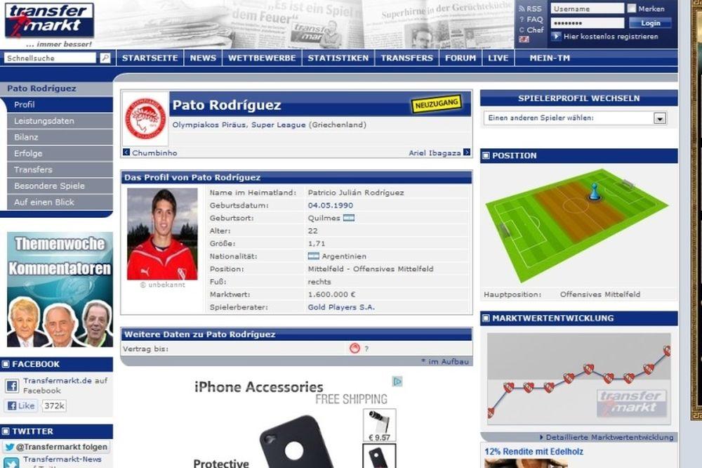 Στον Ολυμπιακό ο Ροντρίγκες!