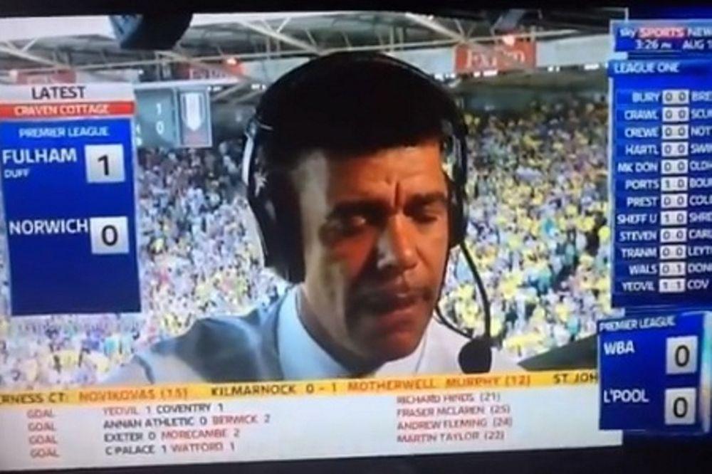Δημοσιογράφος του Sky Sports κοιμήθηκε εν ώρα δουλειάς (video)