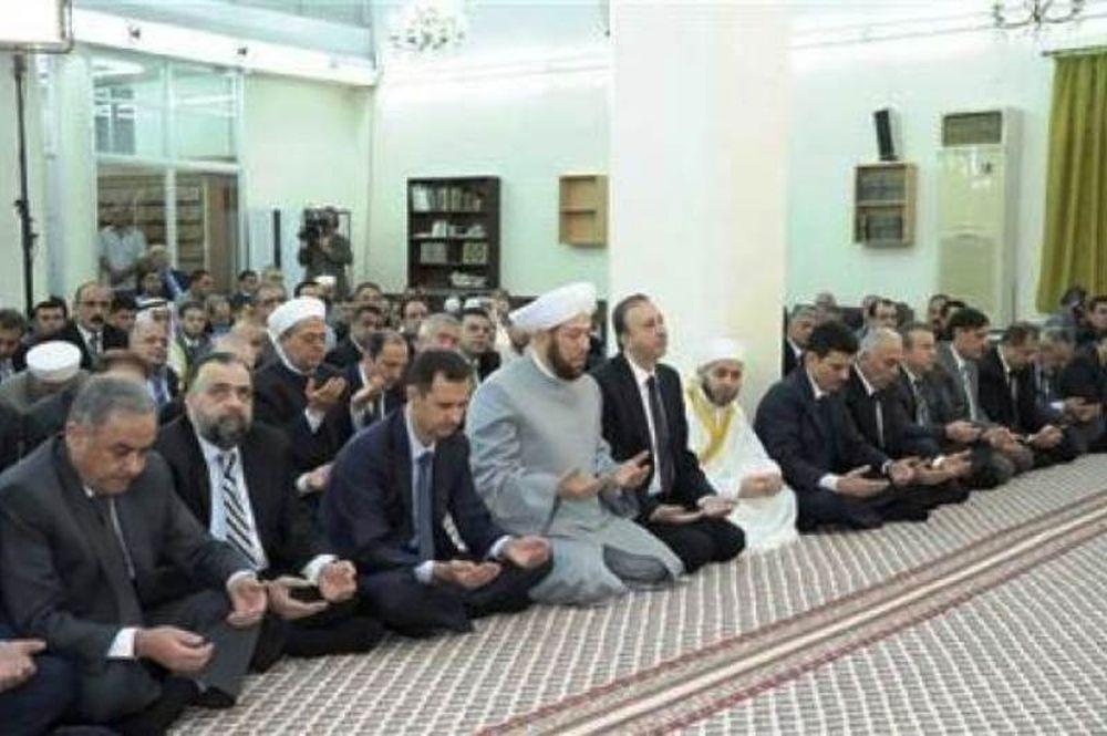 Δημόσια εμφάνιση μετά από καιρό έκανε ο Άσαντ