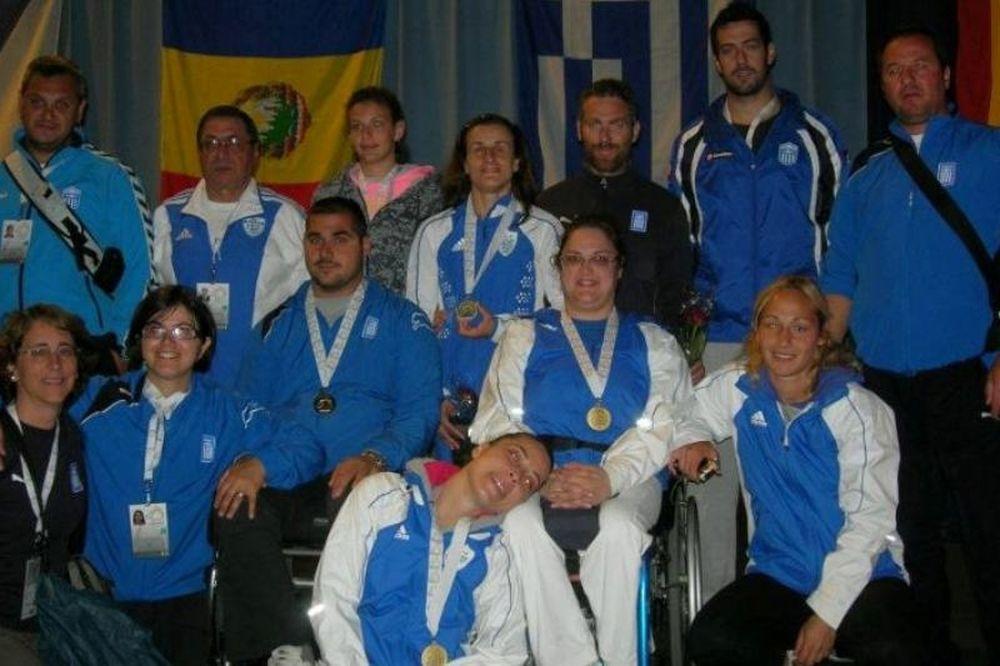 Παρουσιάζεται η Ελληνική Παραολυμπιακή Ομάδα «Λονδίνο 2012»