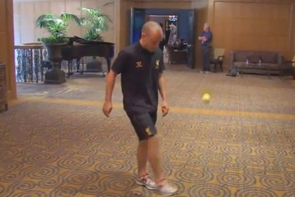 Το… γύρισε στο τένις ο Σπίρινγκ! (video)