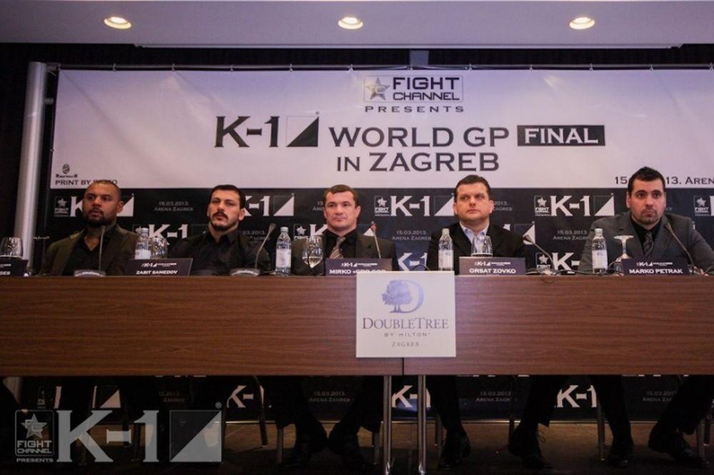 K-1 World GP 2012: Ανακοινώθηκε το πρόγραμμα