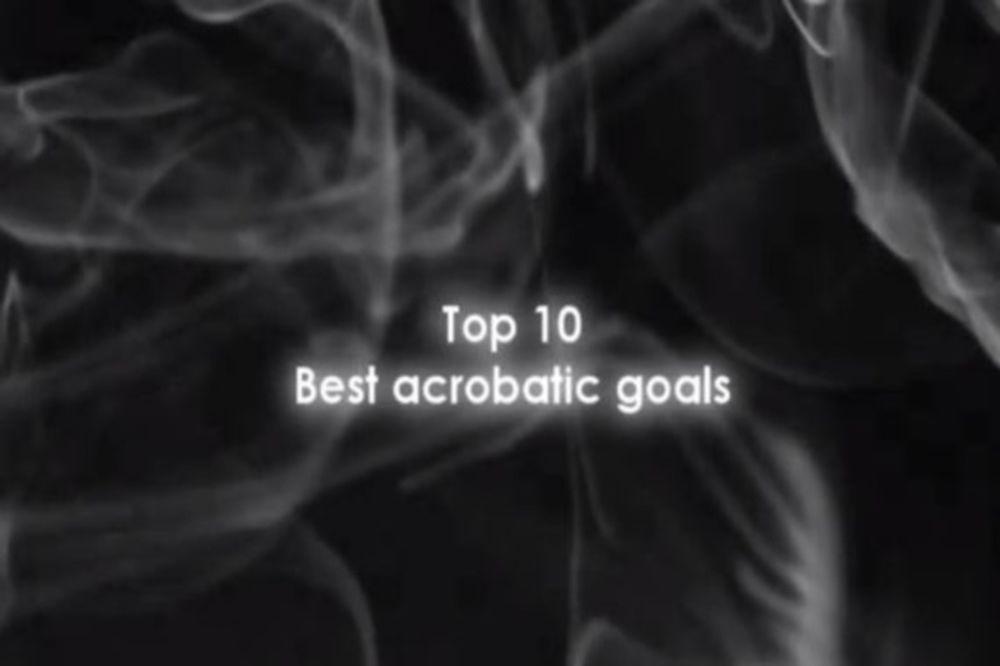Αυτά είναι δέκα από τα καλύτερα... ακροβατικά γκολ (video)
