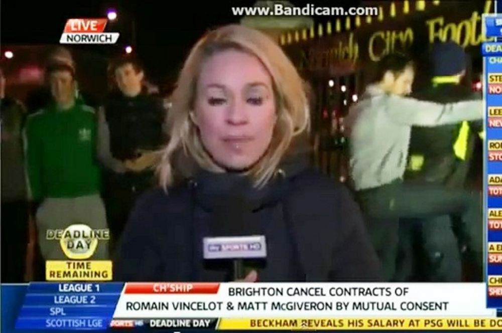 Νόριτς: Έκαναν… σεξ οι οπαδοί της live!( video)