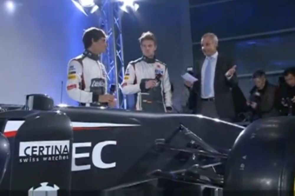 Sauber: Τα αποκαλυπτήρια της νέας C32 (video)