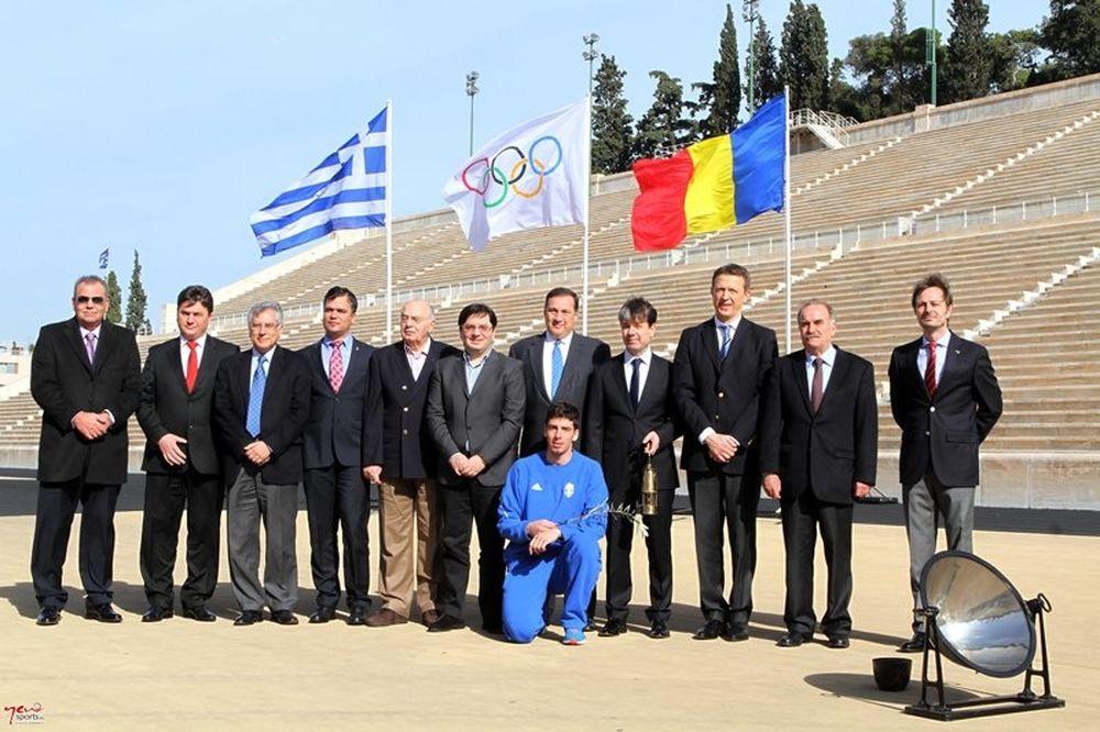 Άναψε η φλόγα στο 11ο Χειμερινό Ολυμπιακό Φεστιβάλ Ευρωπαϊκής Νεότητας (photos)