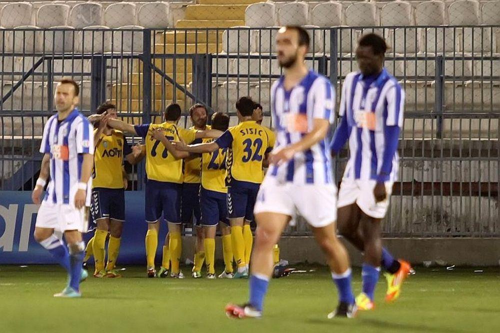 «Μπαμ» στη Ριζούπολη ο Παναιτωλικός, 2-0 τον Απόλλωνα