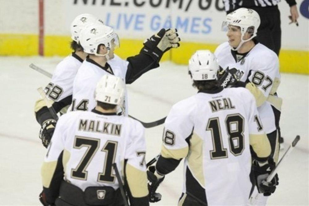 NHL: Πιάνουν… φωτιά οι Πένγκουινς (videos)