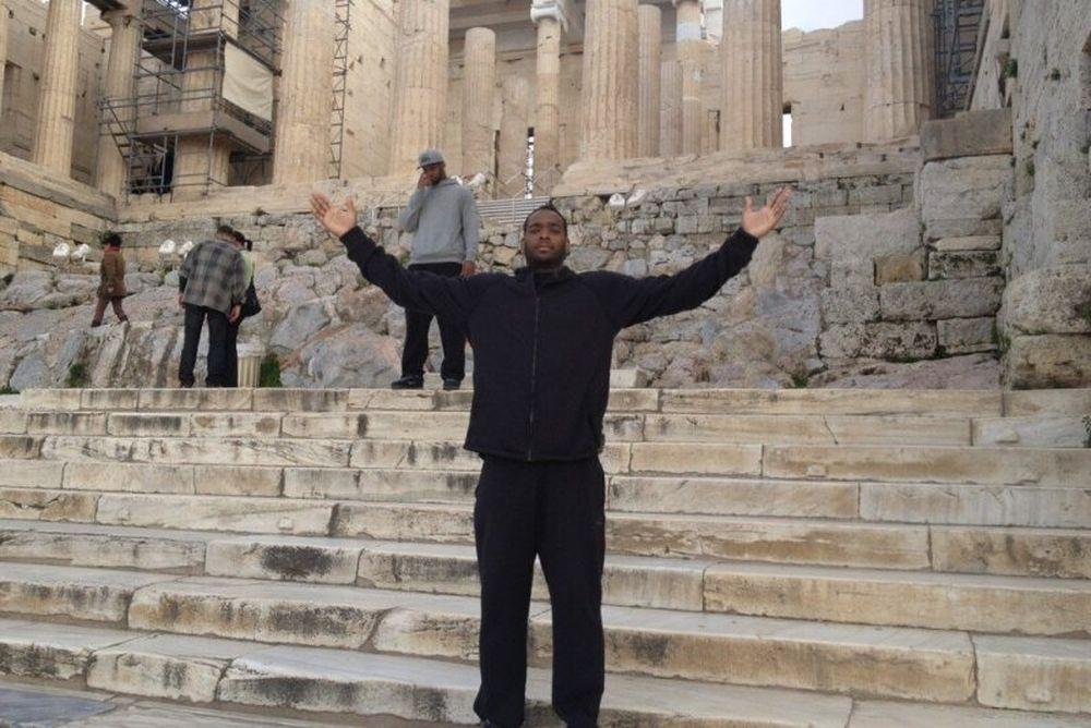 Ολυμπιακός: Στην Ακρόπολη ο Πάουελ (photos)
