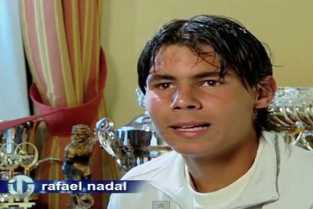 Όταν ο Ναδάλ ήταν 16 (videos)