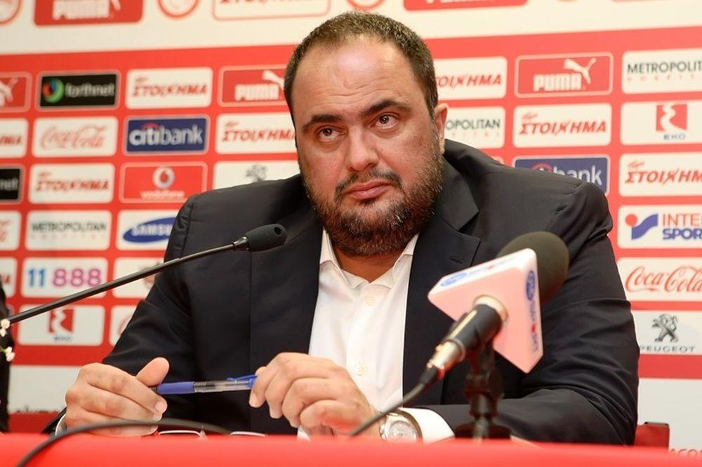 Μαρινάκης: «Δεν είμαστε περαστικοί, ούτε ήρθαμε για να βγάλουμε λεφτά»
