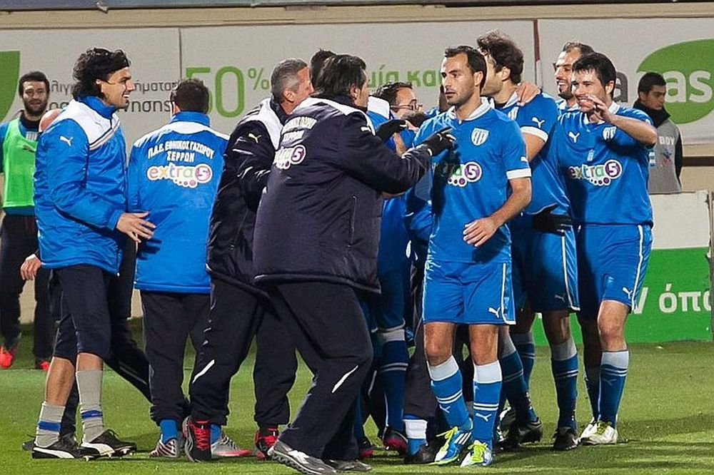 Επιστροφή στις νίκες για Γάζωρο, 1-0 τον Απόλλωνα Σμύρνης