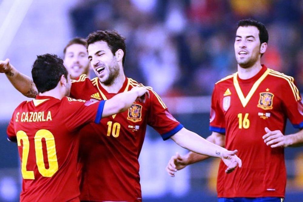 Ασταμάτητη η Ισπανία (video)