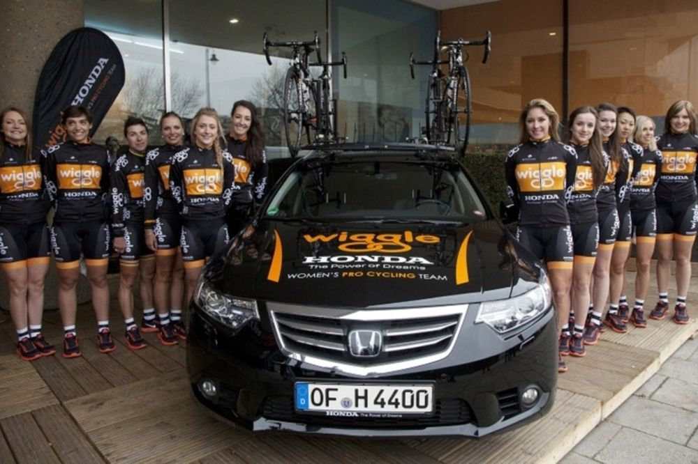 Συνεργασία Honda με Wiggle Women's Pro Cycling Team