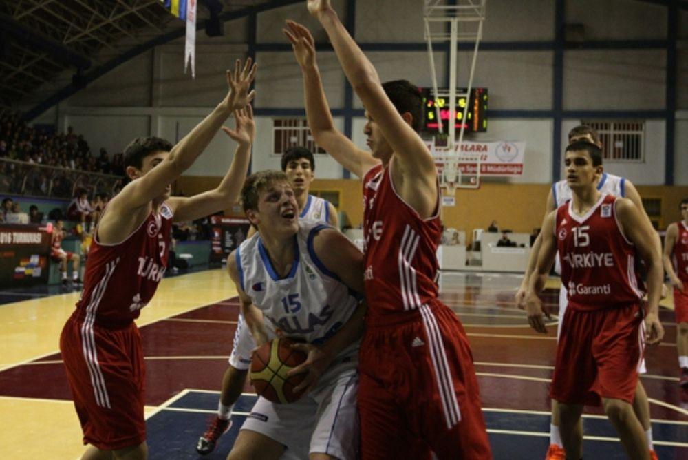 Εθνική Παίδων: Στα ημιτελικά στην Τουρκία