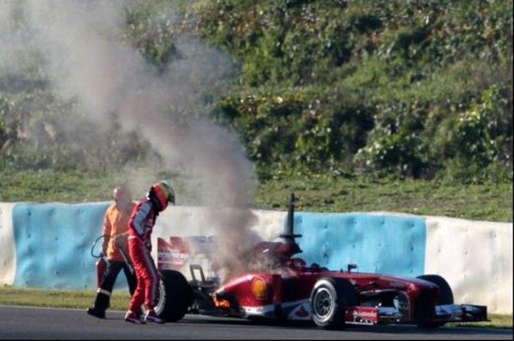 Φόρμουλα 1: Πήρε φωτιά η Ferrari