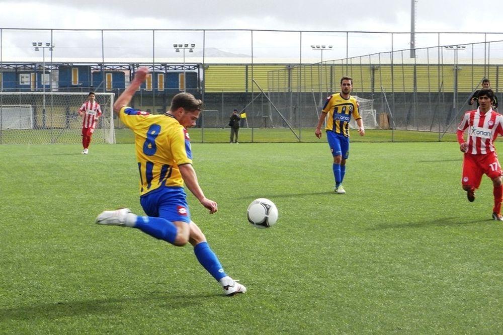 Αστέρας Τρίπολης-Ολυμπιακός 2-2 (Κ20)