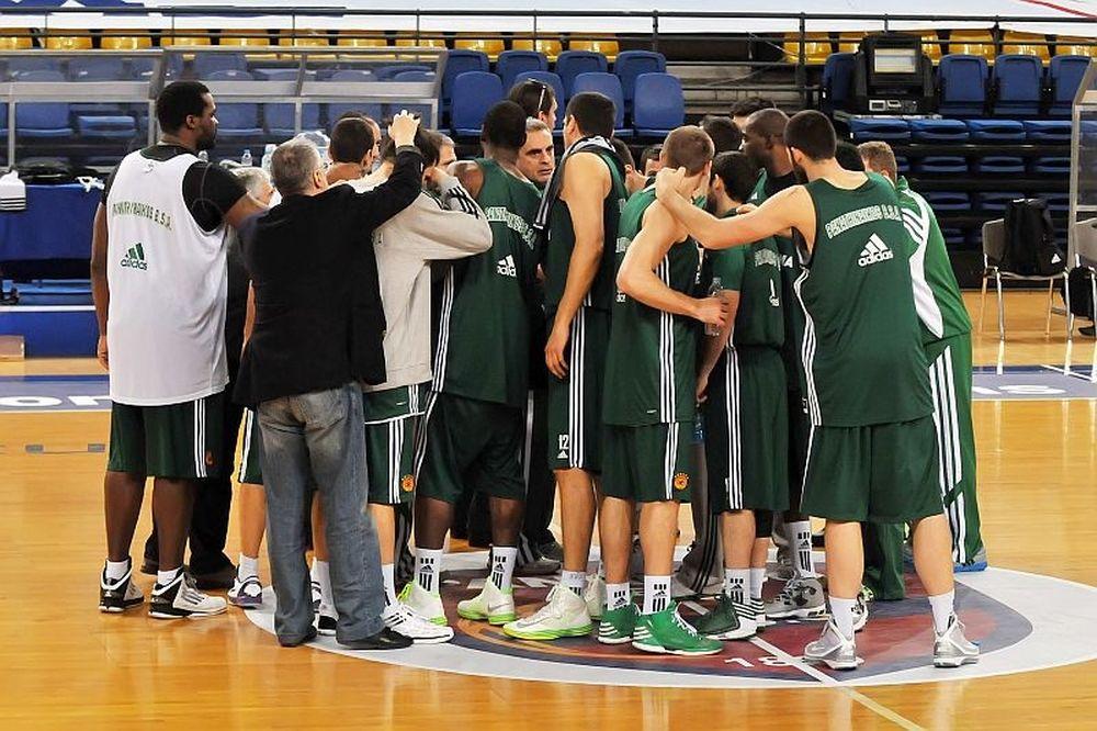 Παναθηναϊκός: Στο πλευρό της ομάδας ο Δημήτρης (photos)