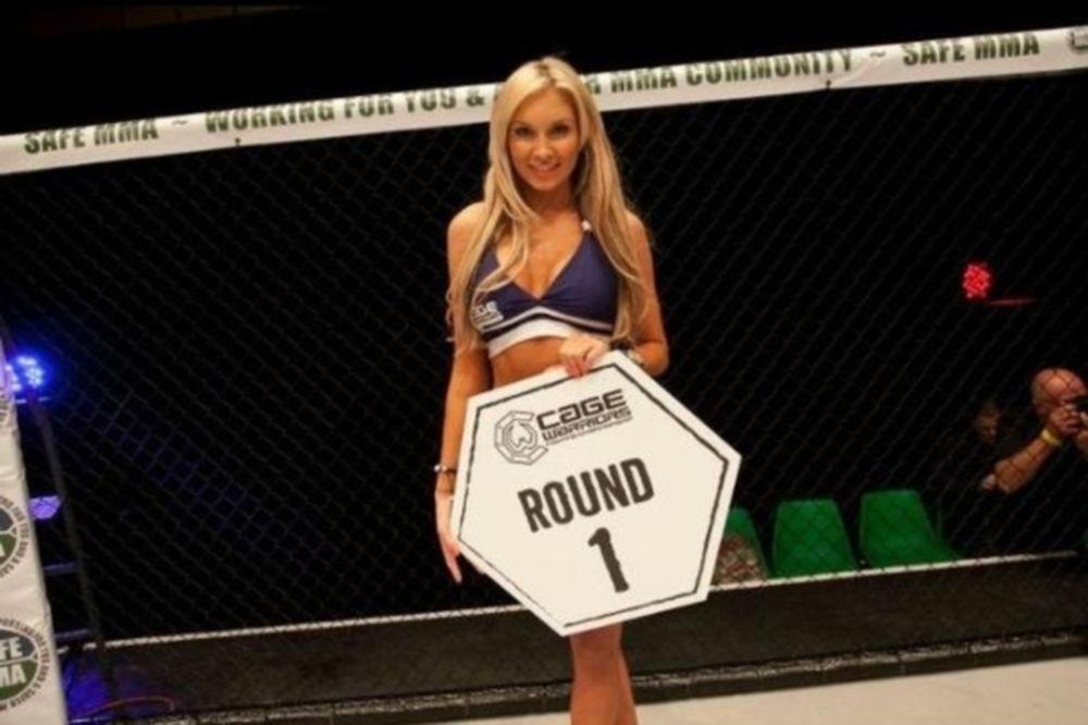MMA: Η Brookelyn του Cage Warriors (photos)