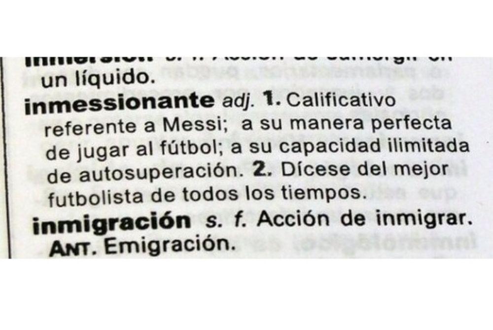Μπαρτσελόνα: Στο… ισπανικό λεξικό ο Μέσι!