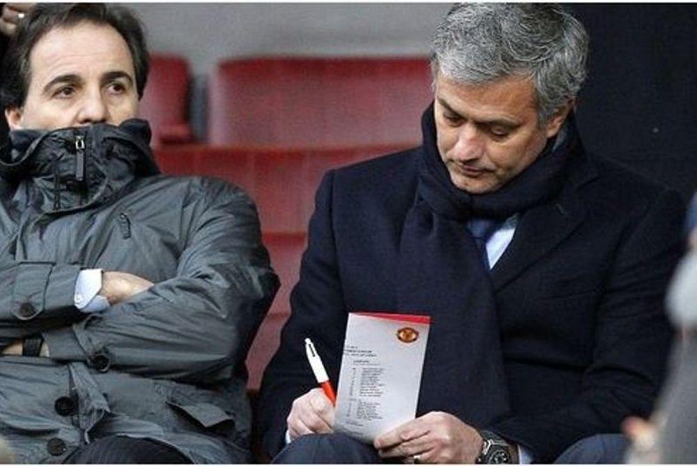 Ο Μουρίνιο «κατάσκοπος» στο Old Trafford