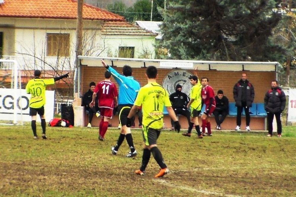 Αχιλλέας Νεοκαισάρειας-Μακεδονικός Κοζάνης 1-1