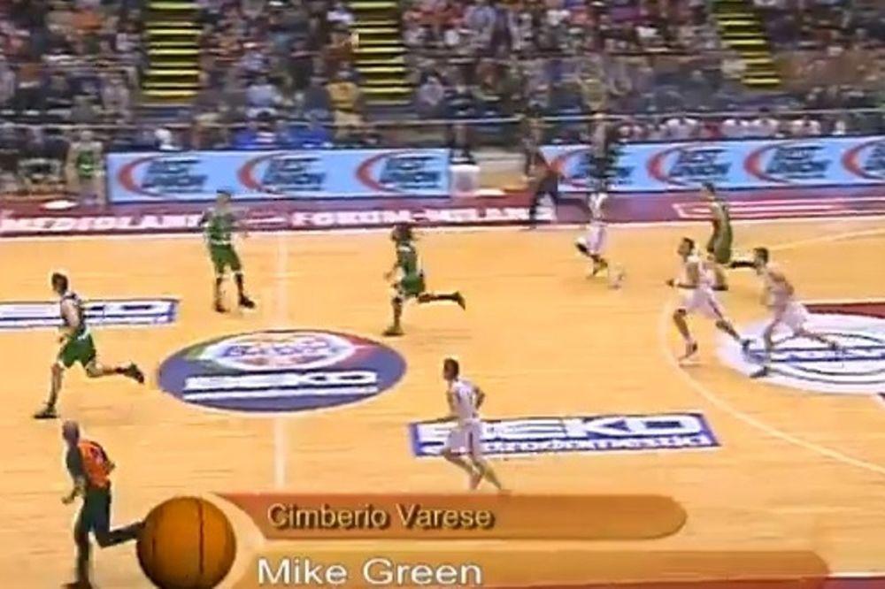 Σιένα - Βαρέζε: Άλεϊ ουπ... τρίποντο από το κέντρο! (video)