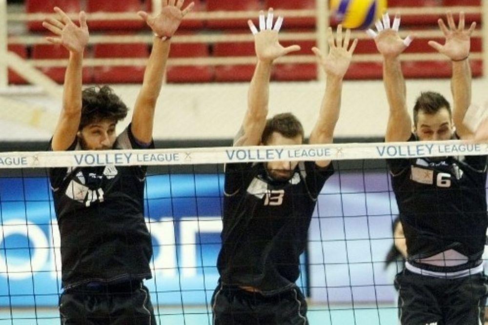 Volleyleague: «Αφεντικό» ο ΠΑΟΚ