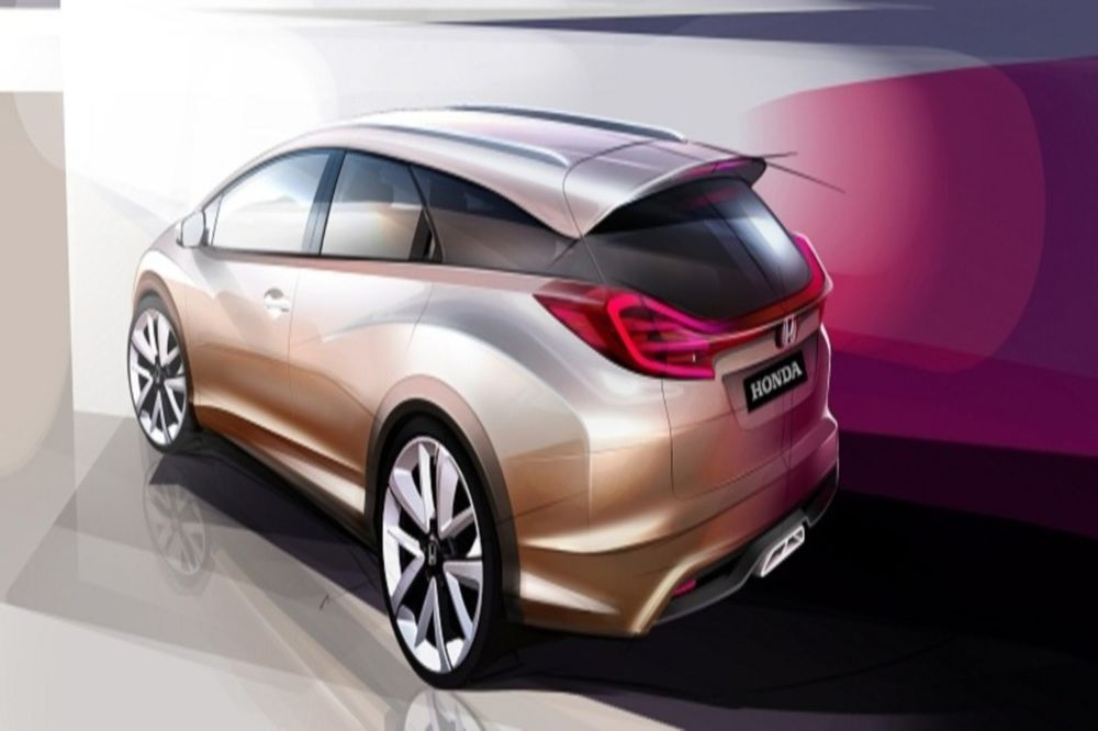 Honda Civic Wagon Concept @ Γενεύη