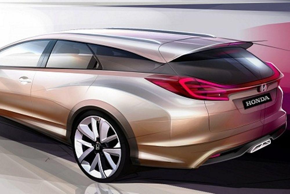 Το Honda Civic Wagon Concept στη Γενεύη