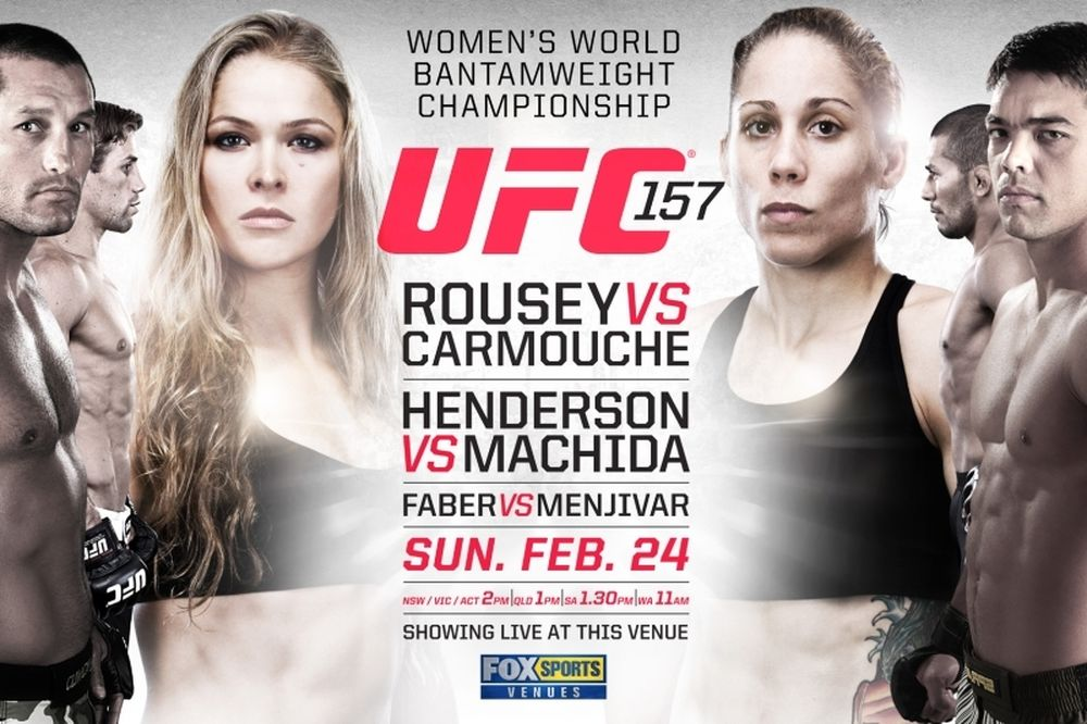 UFC 157: Δεκάλεπτο preview για «Rousey vs Carmouche»
