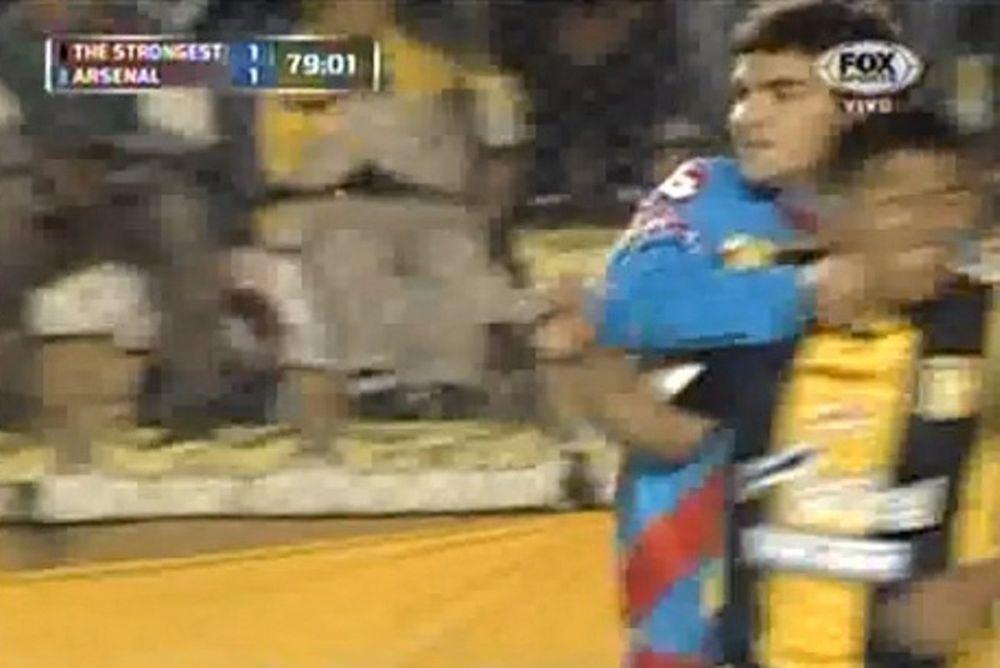 Άρσεναλ Σαραντί: Ο Ζελάγια έριξε μπουνιά σε αντίπαλο! (video)