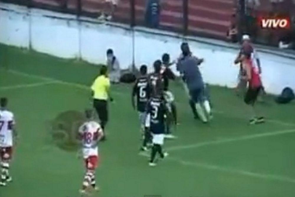 Αργεντινή: Εισβολέας επιτέθηκε στους παίκτες! (video)